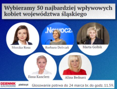 [Plebiscyt] najbardziej wpływowe kobiety