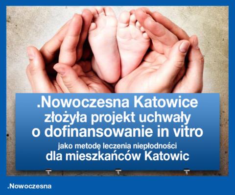 In vitro dla mieszkańców Katowic.