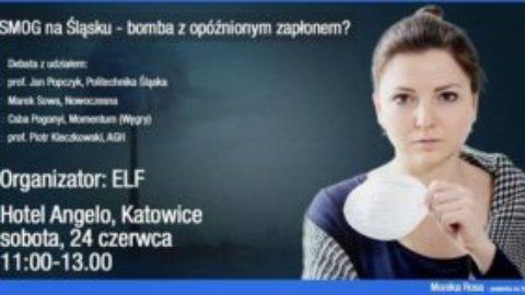 """""""Smog na Śląsku – bomba z opóźnionym zapłonem""""."""