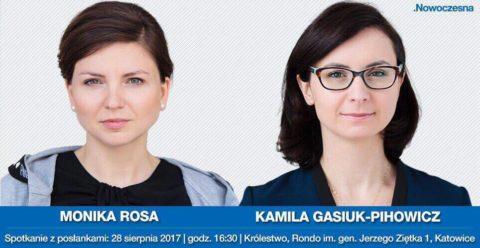 Spotkanie z posłankami Kamilą Gasiuk – Pihowicz i Moniką Rosa