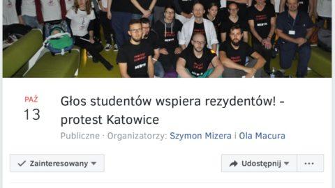 Strajk głodowy lekarzy rezydentów.