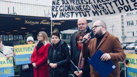 Protest w obronie regionalizmu śląskiego